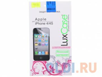 Защитная пленка LuxCase для Apple iPhone 4, Суперпрозрачная