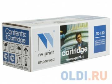 Картридж NV-Print совместимый Kyocera TK-130 для  FS-1028MFP/1128MFP/1300D/1350DN. Чёрный. 7200 страниц.