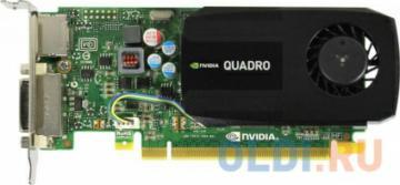 Проф видеокарта 2Gb <PCI-E> PNY nVidia Quadro K420 <GDDR3, 128 bit, DVI, DP, Low Profile, Retail>