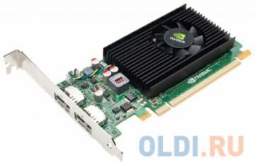 Проф видеокарта 1Gb <PCI-E> PNY nVidia NVS 310 <DDR3, 64 bit, 2*DP, Low Profile, Retail>