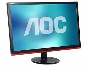 """Монитор 21.5"""" AOC G2260VWQ6 черный TN 1920x1080 250 cd/m^2 1 ms VGA HDMI DisplayPort"""